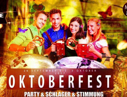 Wir feiern mit euch wieder Oktoberfest